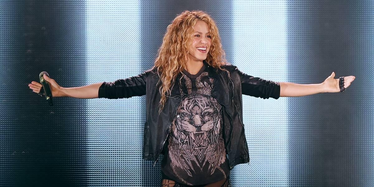 Shakira llegó a la Argentina