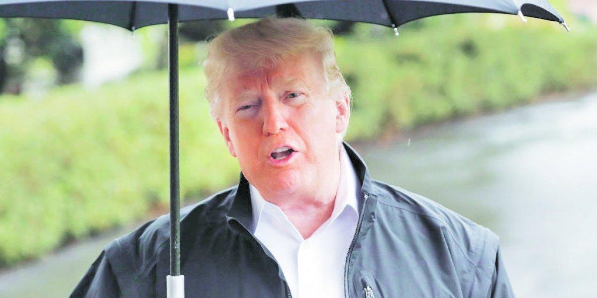 Trump ahora sí cree en el cambio climático