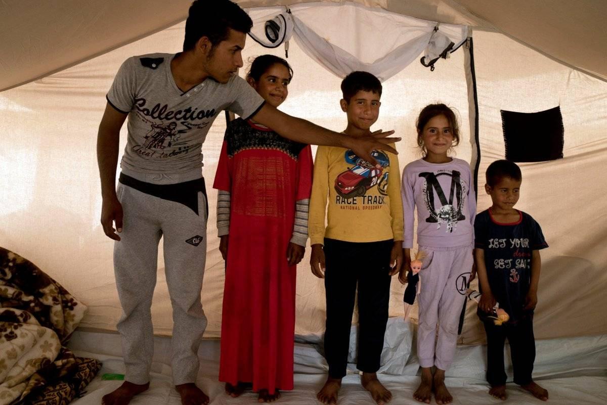 Niños víctimas del Estado Islámico