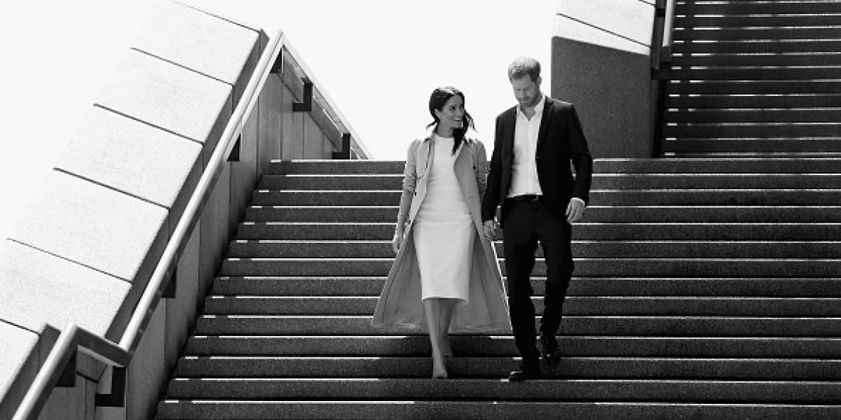 "VIDEO: La escena de ""celos"" que Harry le hizo a Meghan"