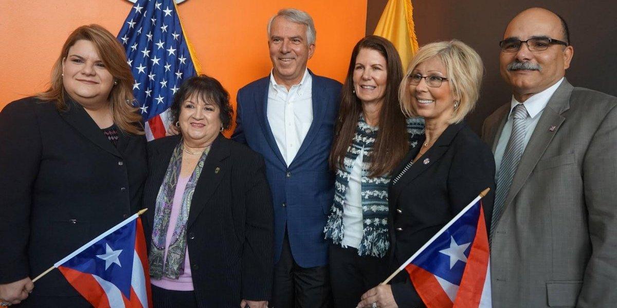 Candidato al Senado por New Jersey apoya la estadidad para Puerto Rico