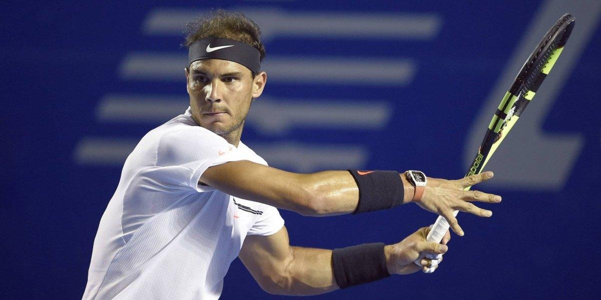 Abierto Mexicano de Tenis confirma a Nadal, Zverev y Wawrinka