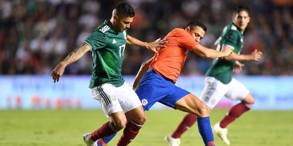 Chile se impone 1-0 a México en Querétaro