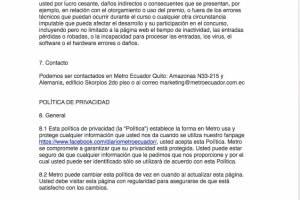 Términos y condiciones del sorteo para conocer a Andrés Cepeda