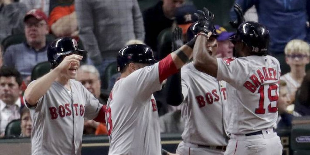 Osuna y Astros caen ante Boston en la Serie de Campeonato