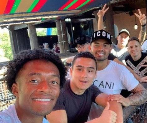 2. Jugadores de Colombia en Busch Gardens