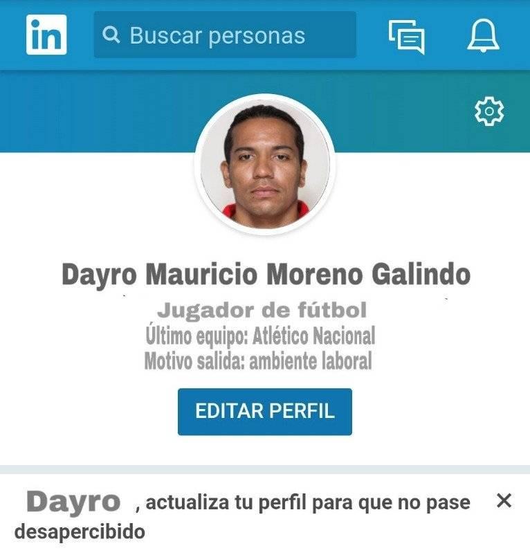 Dayro en LinkedIn