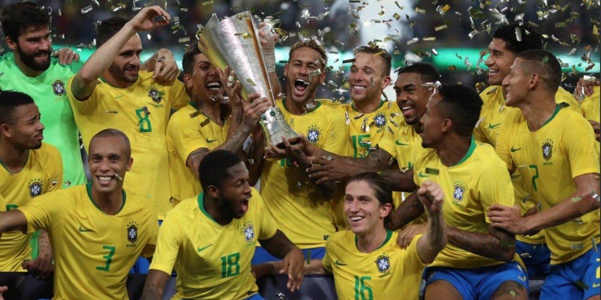 La joven Argentina no pudo aguantar el poderío de Brasil y perdió el Superclásico en los descuentos