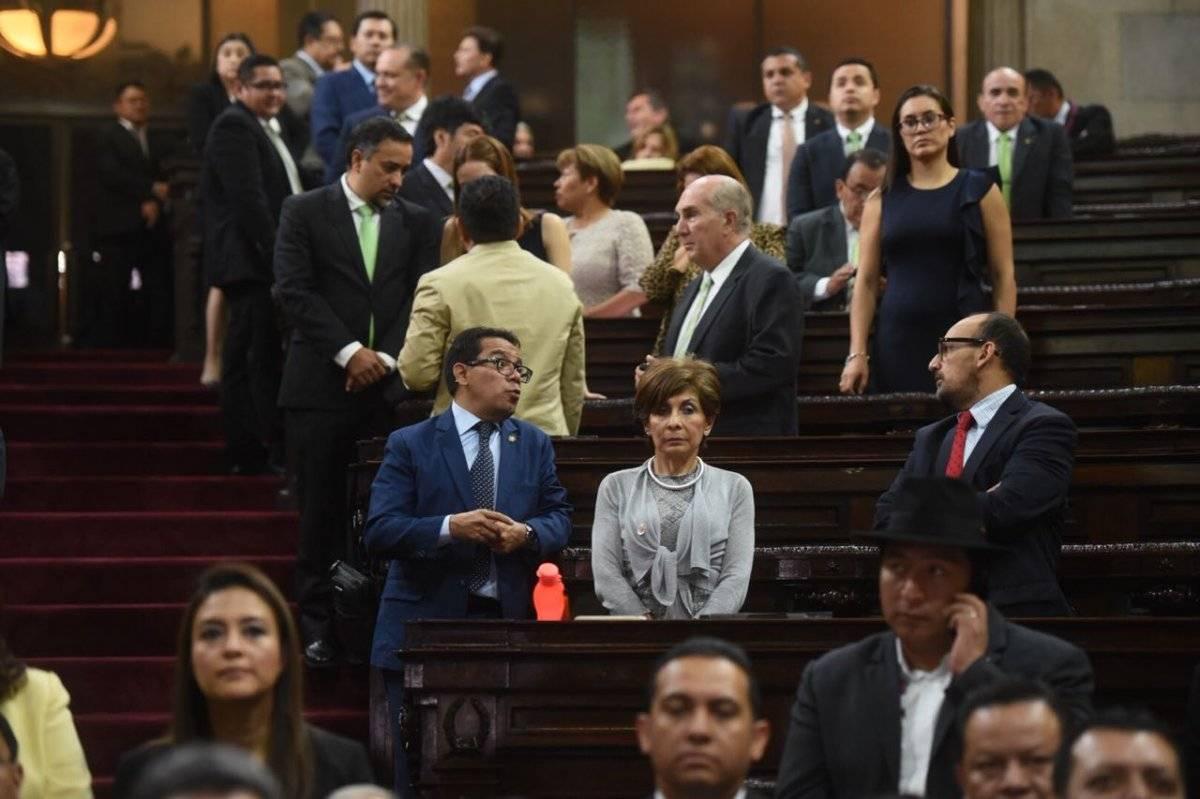 Diputados en el Congreso de la República