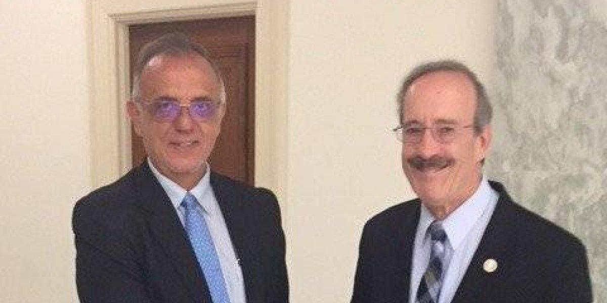 Departamento de Estado de EE. UU. apoya a la CICIG, según carta enviada a Engel