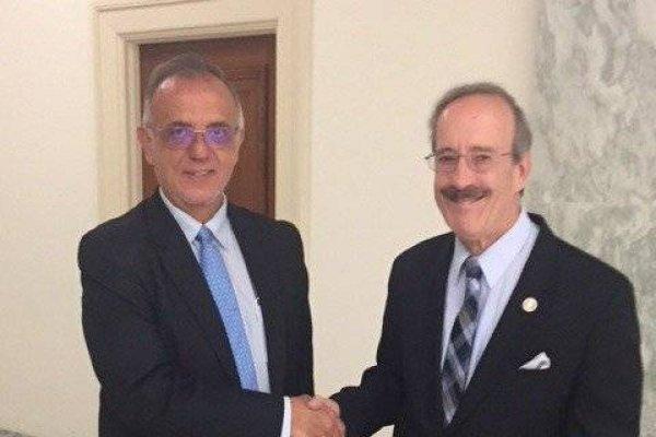 Eliot L. Engel e Iván Velásquez, jefe de la CICIG.