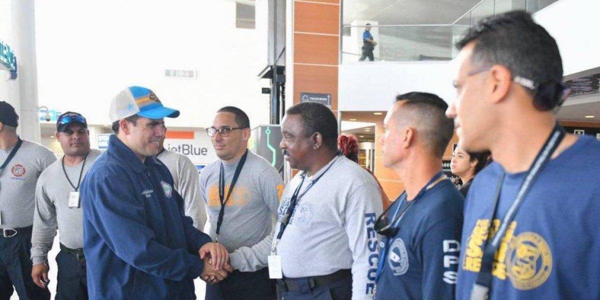 Parten hacia Florida rescatistas boricuas tras desastroso huracán Michael