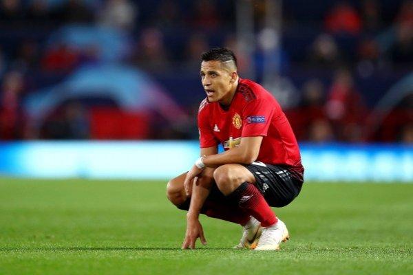 El chileno no lo pasa bien en Inglaterra / imagen: Getty Images