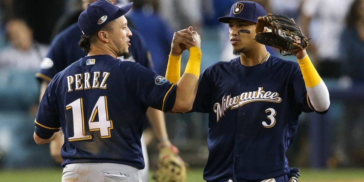 Cerveceros vence a Dodgers y se adelantan en la Serie