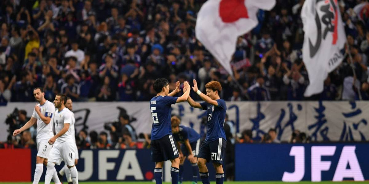Japón le da otro mazazo a Uruguay en un electrizante amistoso