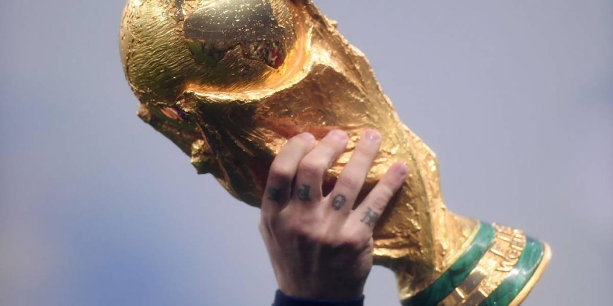 El nuevo detalle del trofeo de la Copa Mundial