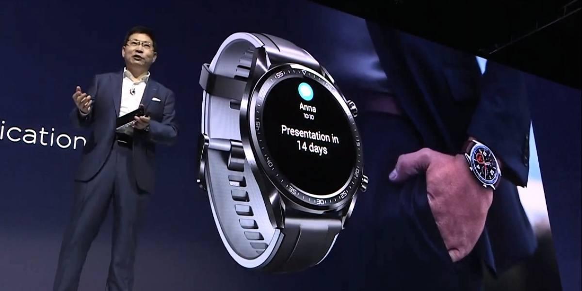 Huawei presenta su nueva apuesta en relojes inteligentes: el Watch GT