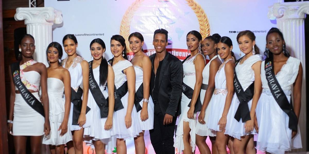 Miss y Mister Continents RD presenta candidatos