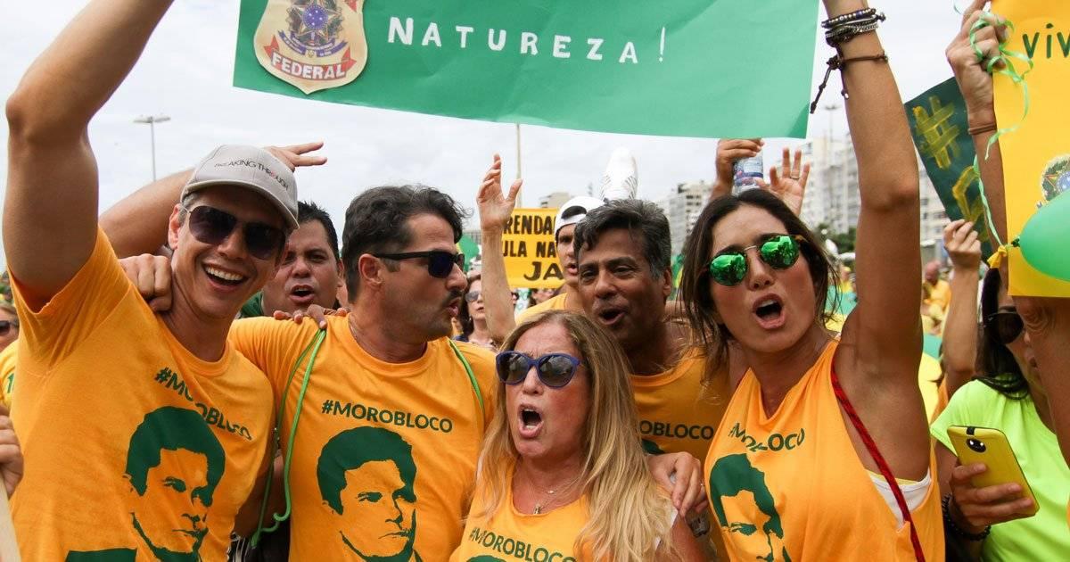 Impeachment Dilma artistas