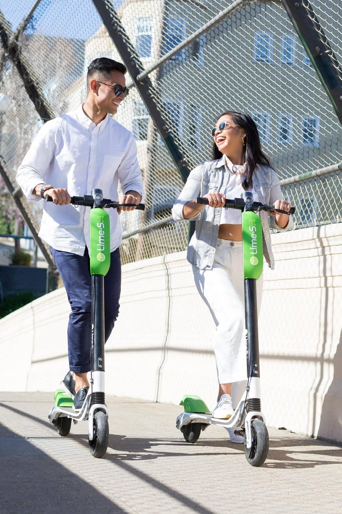 Gentileza Lime / Empresa Lime busca traer scooter eléctricos compartidos