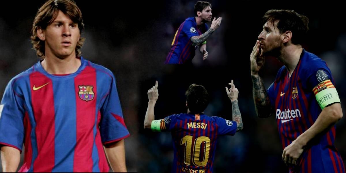 Se cumplen 14 años del debut de Messi con el Barcelona