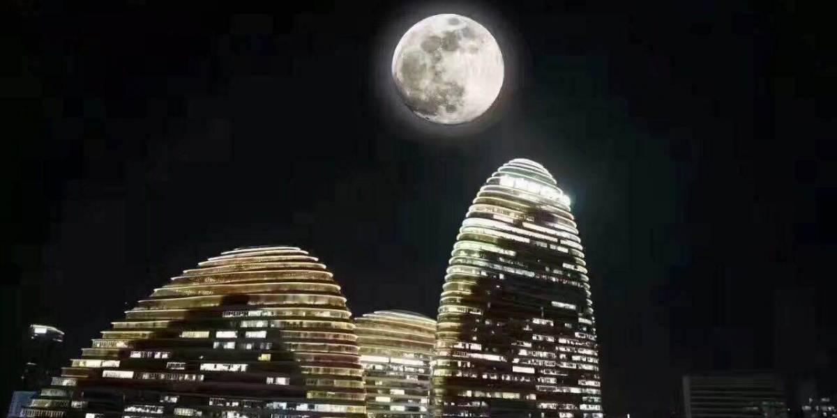 """¡China va a lanzar una """"luna artificial"""" al espacio en 2020!"""