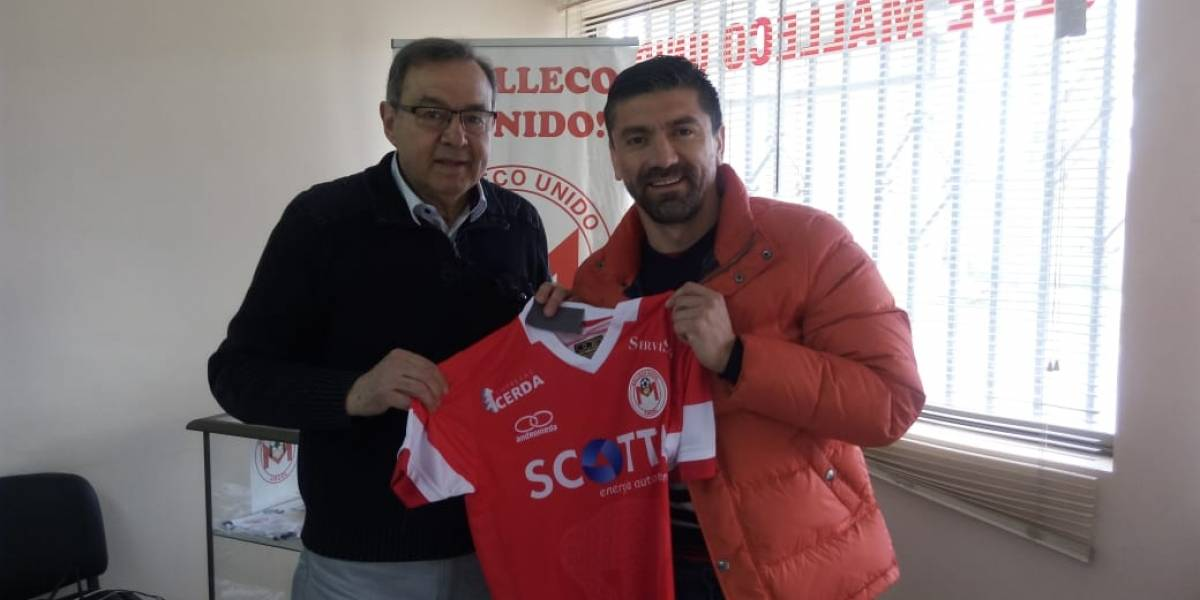 Héctor Mancilla vuelve al fútbol para intentar salvar a Malleco Unido en Segunda División