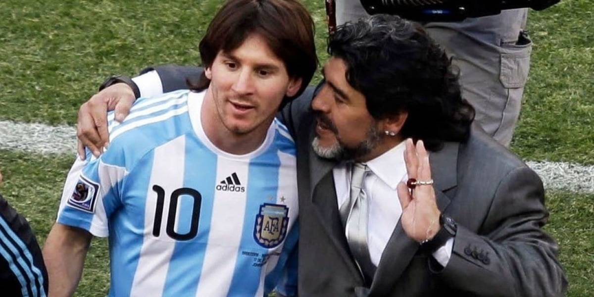 Maradona llamará a Messi para disculparse
