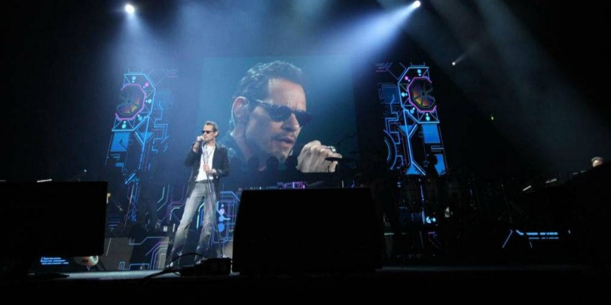 Marc Anthony deleita a sus seguidores mexicanos en el Palacio de los Deportes
