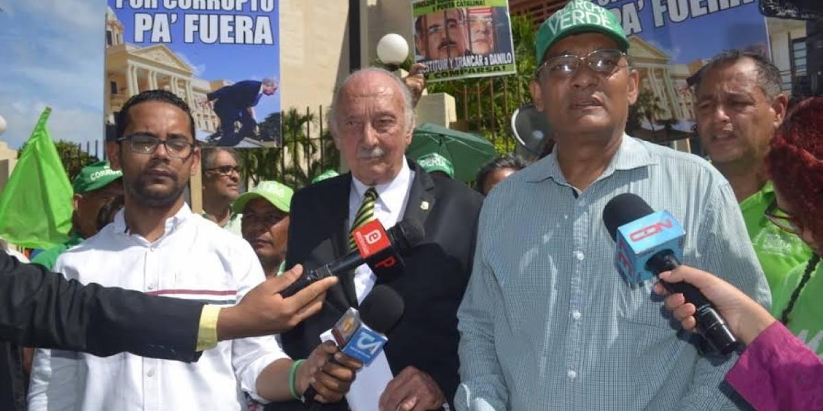 Marcha Verde demanda juicio político a Medina