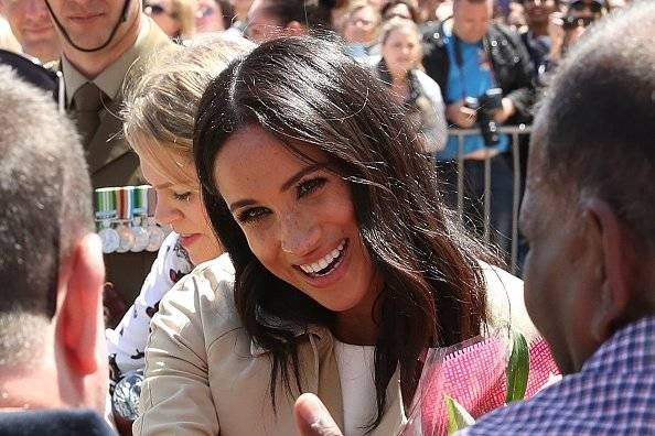 Las primeras imágenes de Meghan tras anunciar su embarazo Getty