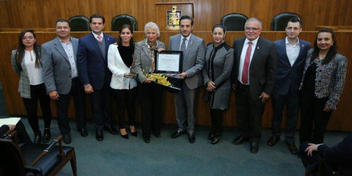 Diputados de NL reconocen trayectoria de Sánchez Cordero