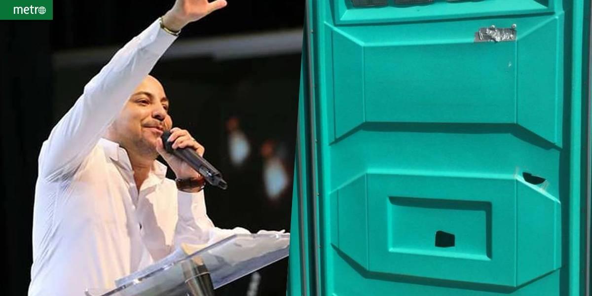 Pastor evangélico furava banheiros químicos para espiar mulheres
