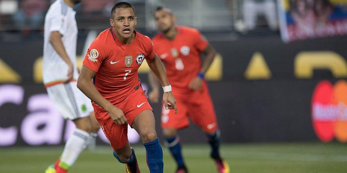 ¿Alexis rompe la maldición? Los delanteros de la Roja de Rueda todavía no meten un gol