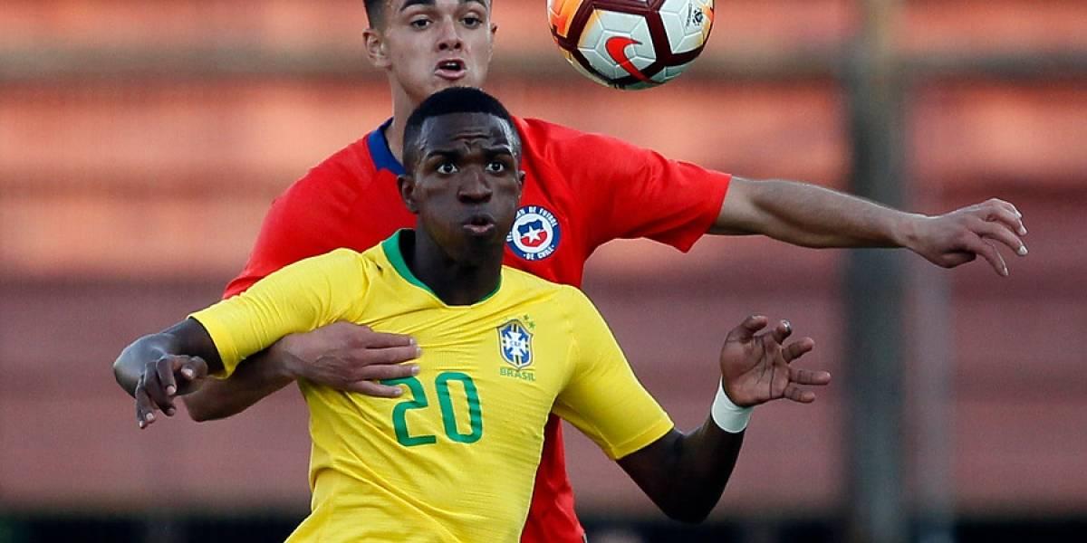 Vinicius Junior, la estrella brasileña del Real Madrid que se robó todos los focos en Chile