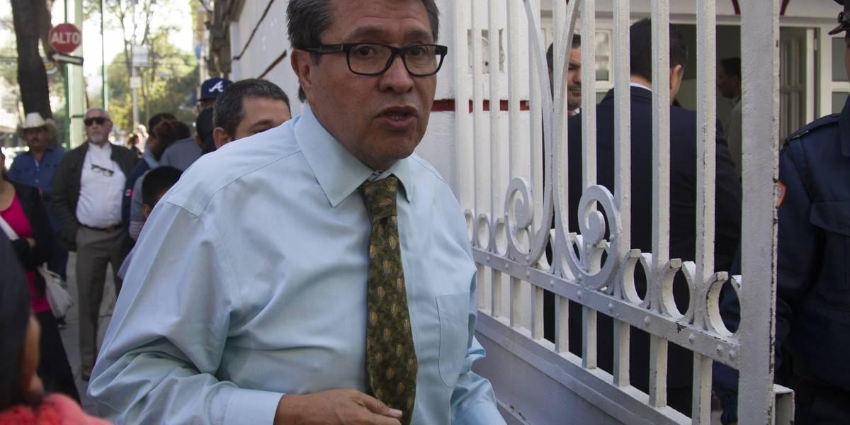Así se comprometió Monreal con la 4T en Aguascalientes