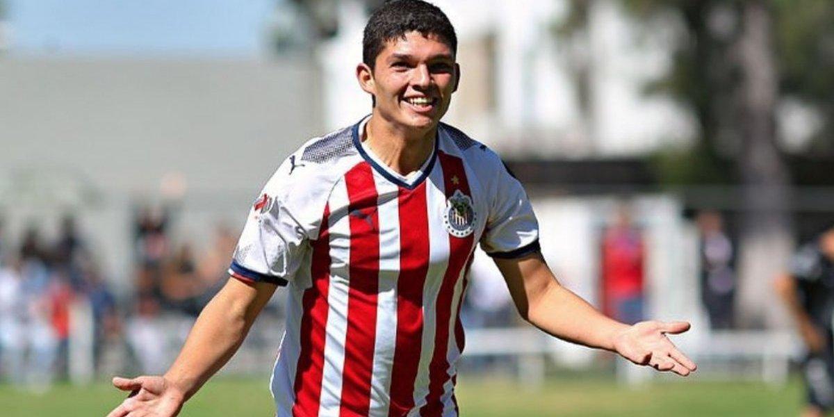 La 'joya' de Chivas ya entrena con el primer equipo