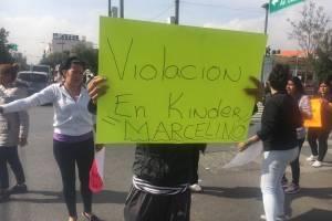 Manifestación en San Juan de Aragón
