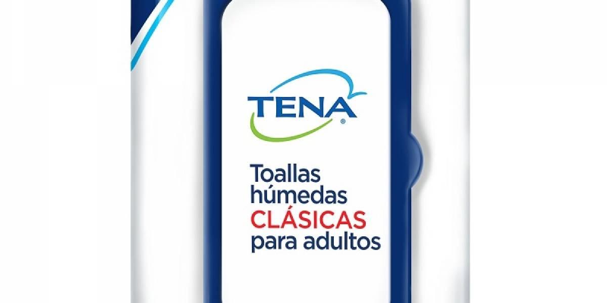 TENA introduce al mercado nuevas Toallas Húmedas Clásicas