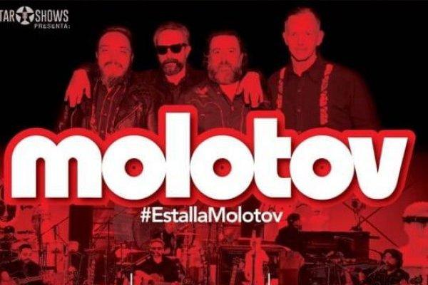 "Molotov con su gira ""El Desconectour"" llega a Ecuador en Diciembre"