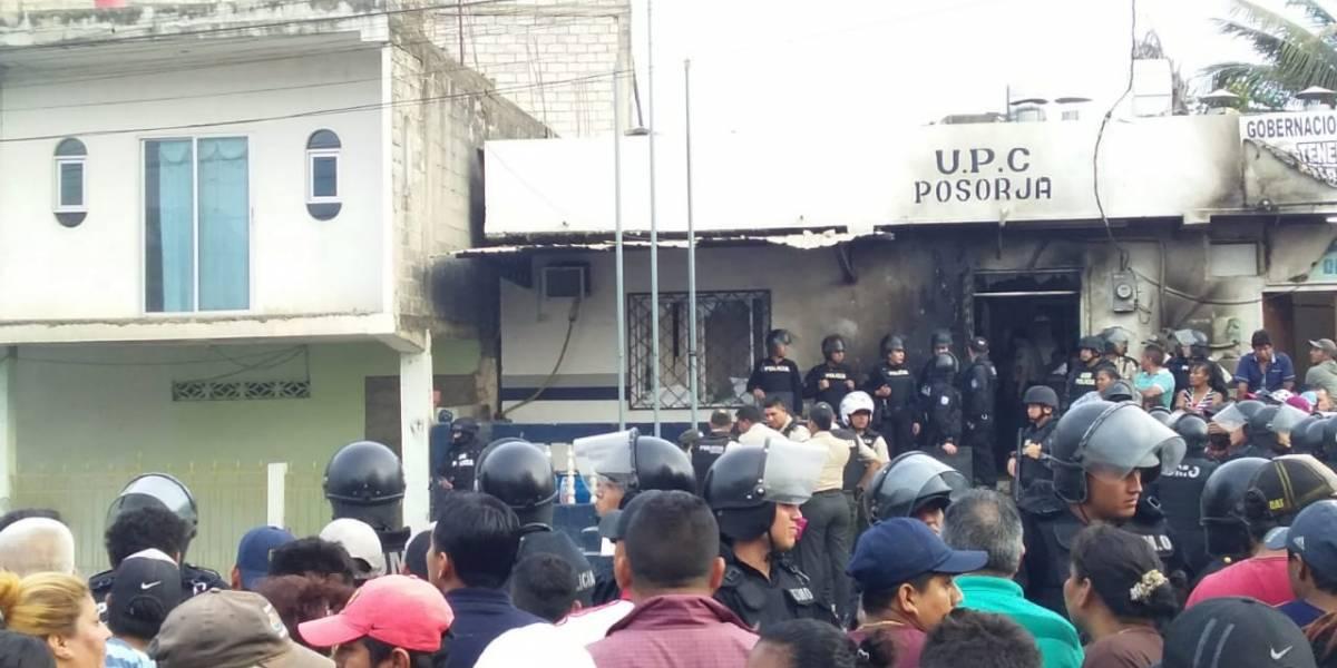Caos en Posorja: linchan a tres personas detenidas
