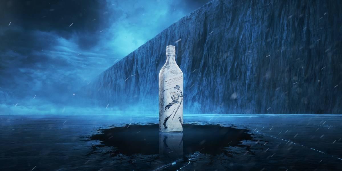 """Atención barra: Precio y llegada a Chile del """"White Walker by Johnnie Walker"""", el whisky homenaje a Game of Thrones"""