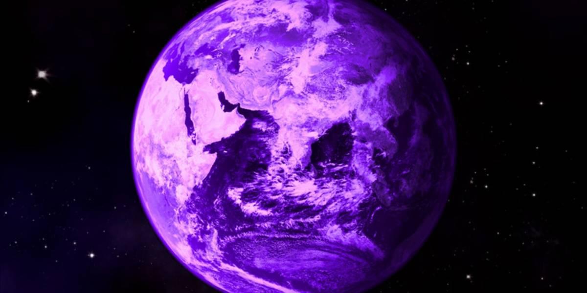 Hace millones de años la Tierra pudo haber sido de color morado
