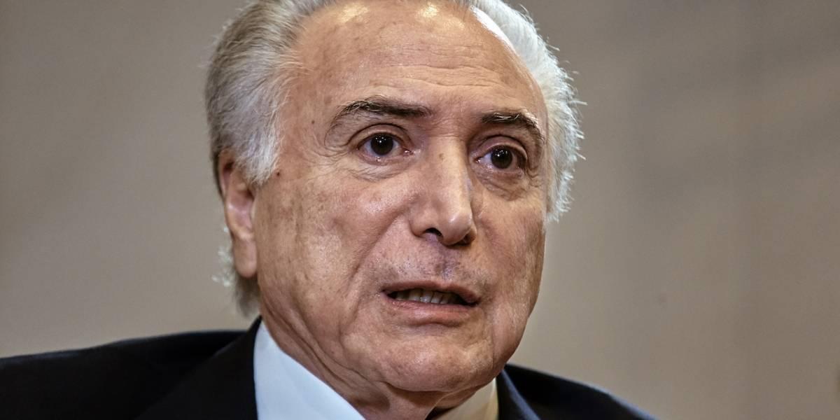 Presidente Michel Temer de Brasil es acusado de lavado de dinero