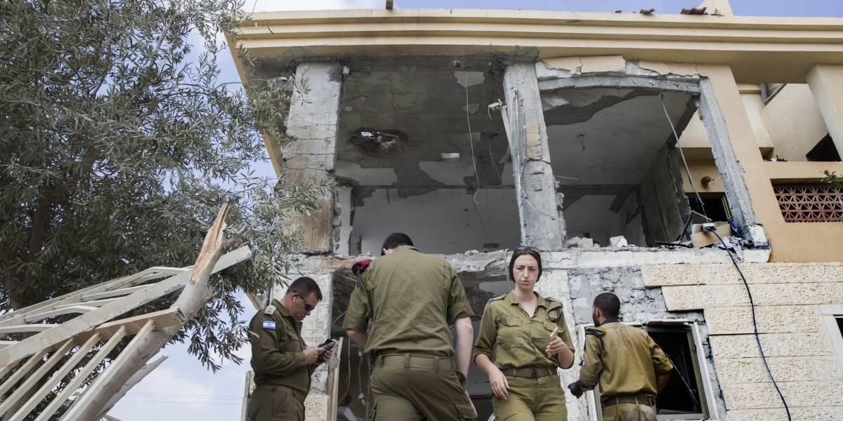Proyectil lanzado desde Gaza impacta vivienda en el sur de Israel