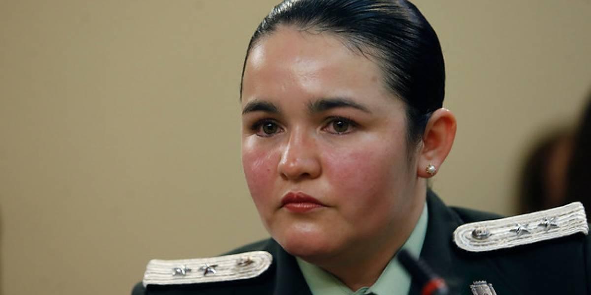 Linda Cerpa, la teniente que fue sumariada tras denunciar acoso en Gendarmería, recurrió a la Comisión de la Mujer de la Cámara Baja
