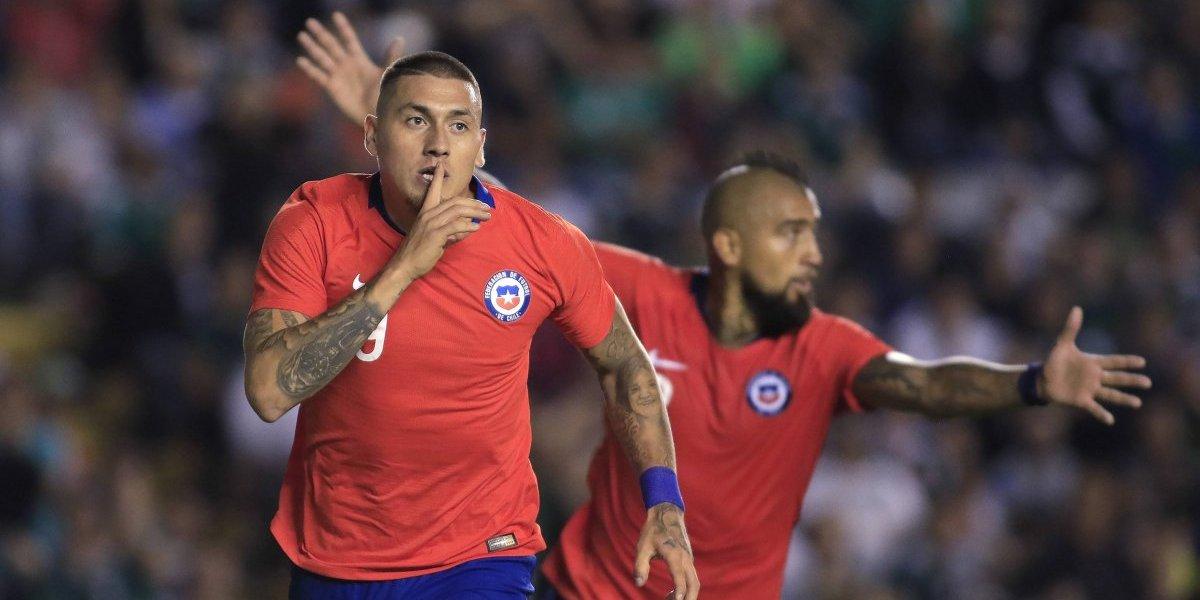 Nicolás Castillo rompió su sequía y la mala racha de los delanteros en la Roja
