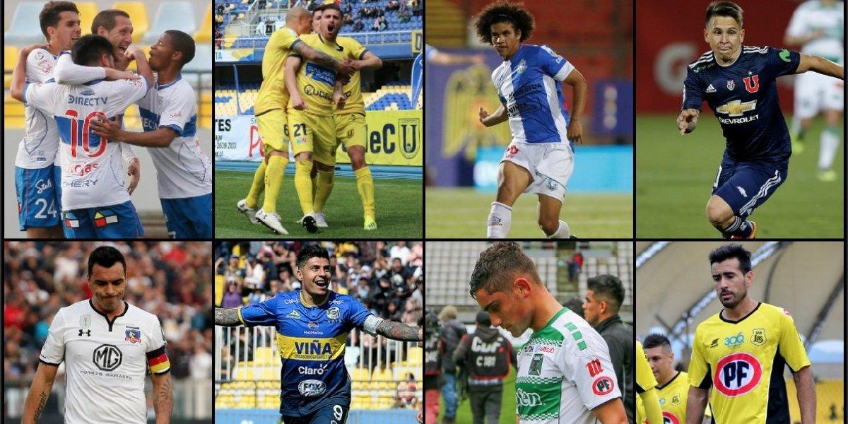 Título, cupos internacionales y descenso: Lo que se juega en las últimas cinco fechas del Campeonato Nacional