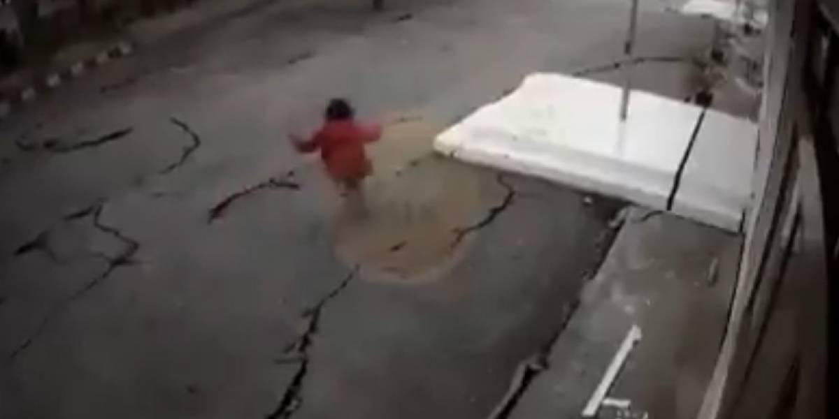Filtran impresionante video del terremoto que azotó Indonesia