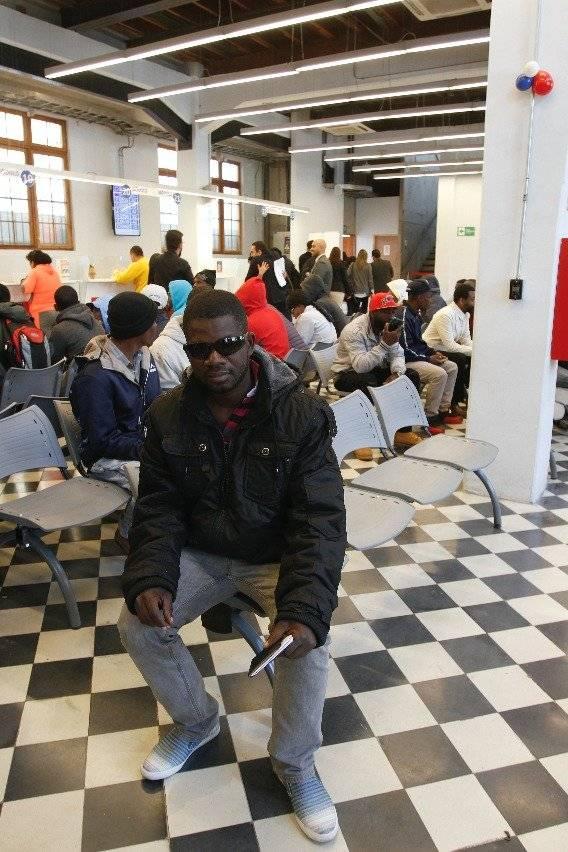 """Wilson Piere es uno de los haitianos que se inscribió en el plan """"Retorno a Haití"""""""